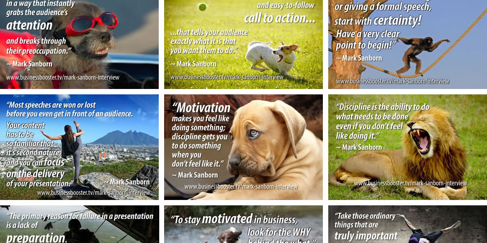 Quotes: Business & Presentation Quotes by Mark Sanborn